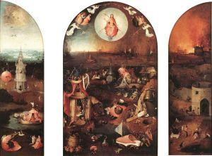 Trittico del Giudizio di Bruges - Hieronymus Bosch