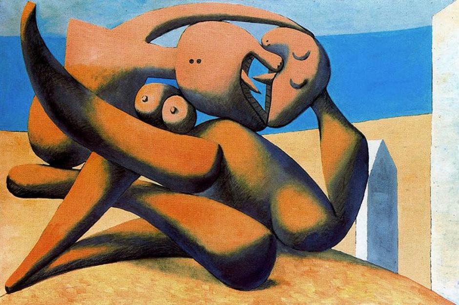 """""""figures au bord de la mer"""" Picasso"""